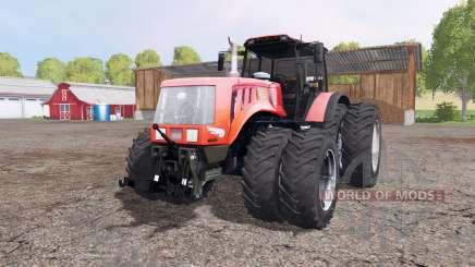 Беларус 3022ДЦ.1 двойные колёса для Farming Simulator 2015