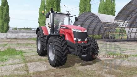 Massey Ferguson 8737 black decals для Farming Simulator 2017