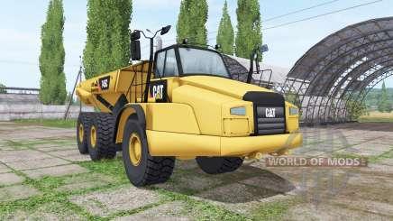 Caterpillar 745C для Farming Simulator 2017
