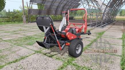 URSUS Z-586 red для Farming Simulator 2017