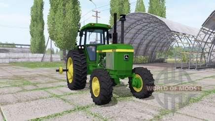 John Deere 4630 v1.2 для Farming Simulator 2017