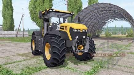 JCB Fastrac 4220 orange для Farming Simulator 2017