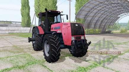 Беларус 2522ДВ красный для Farming Simulator 2017