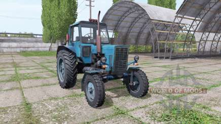 МТЗ 80 Беларус синий для Farming Simulator 2017