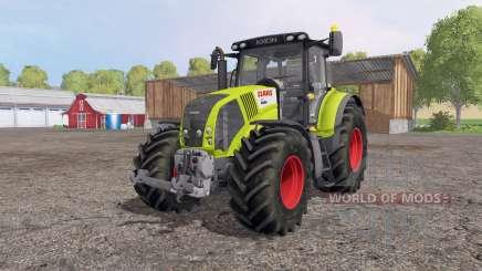 CLAAS Axion 850 green для Farming Simulator 2015