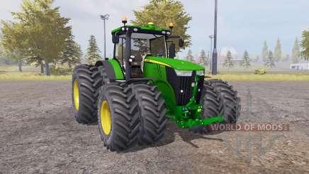 John Deere 7310R v2.1 для Farming Simulator 2013