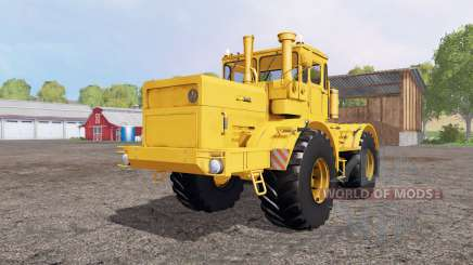 Кировец К 700А жёлтый для Farming Simulator 2015