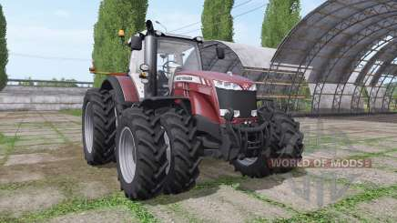 Massey Ferguson 8727 v3.0.3 для Farming Simulator 2017