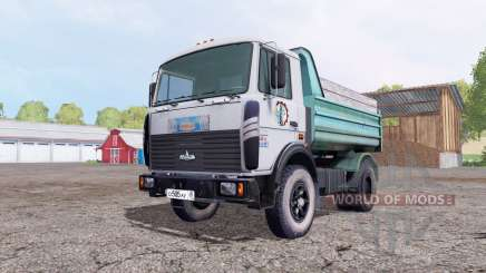 МАЗ 5551 серый для Farming Simulator 2015