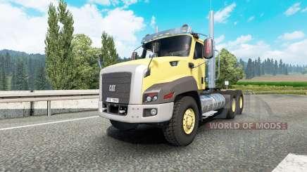 Caterpillar CT660 v2.1 для Euro Truck Simulator 2