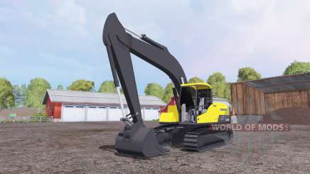 Volvo EC250D для Farming Simulator 2015