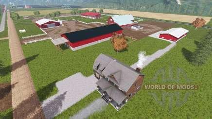 Фермерское хозяйство округа Шарлевуа для Farming Simulator 2017