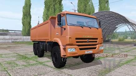 КАМАЗ 43118 v1.1 для Farming Simulator 2017