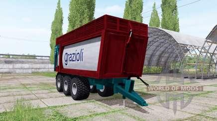 Grazioli Domex 200-6 v2.1 для Farming Simulator 2017