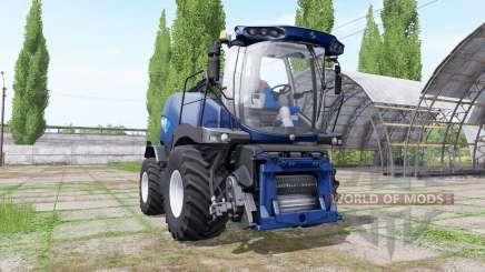New Holland FR850 blue power для Farming Simulator 2017