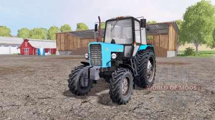 МТЗ 82.1 Беларус чёрный голубой для Farming Simulator 2015