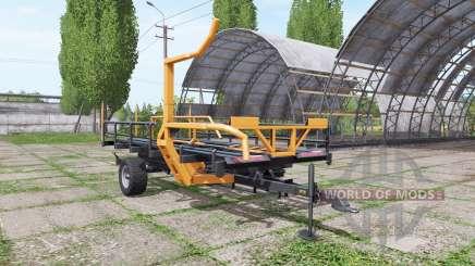 Warfama T-127 v1.1 для Farming Simulator 2017