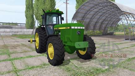 John Deere 4760 FWA для Farming Simulator 2017