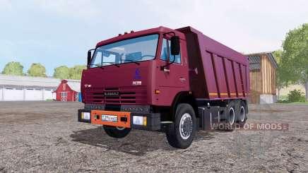 КамАЗ 65115 v1.2 для Farming Simulator 2015