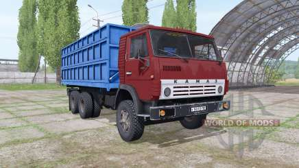 КамАЗ 55102 v2.0 для Farming Simulator 2017