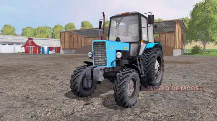 МТЗ 82.1 Беларус голубой для Farming Simulator 2015