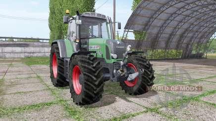 Fendt 820 Vario TMS v1.4 для Farming Simulator 2017