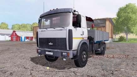 МАЗ 5337 для Farming Simulator 2015