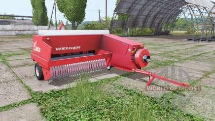 Welger AP730 red для Farming Simulator 2017