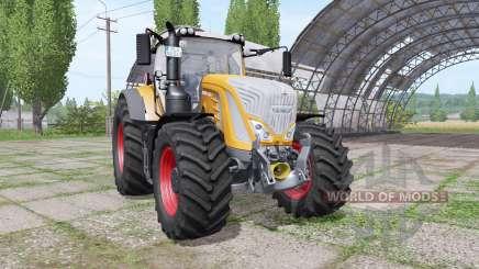 Fendt 936 Vario orange для Farming Simulator 2017
