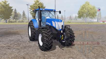 New Holland T7.220 blue power для Farming Simulator 2013