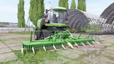 Krone BiG X 480 RowTrac для Farming Simulator 2017