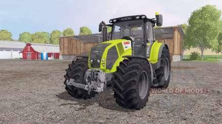 CLAAS Axion 850 green grey для Farming Simulator 2015