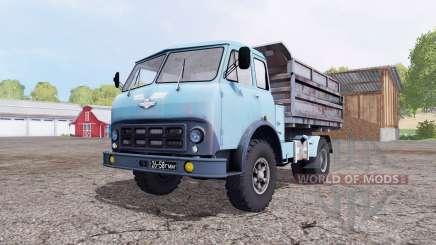 МАЗ 500 синий для Farming Simulator 2015