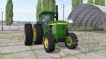 John Deere 4230 v3.0 для Farming Simulator 2017