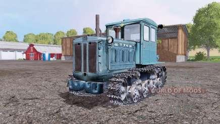 Т 74 для Farming Simulator 2015