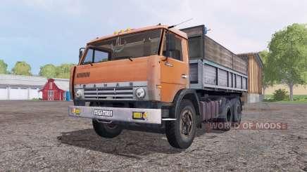 КамАЗ 55102 для Farming Simulator 2015