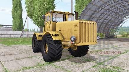 Кировец К 700 v1.2 для Farming Simulator 2017