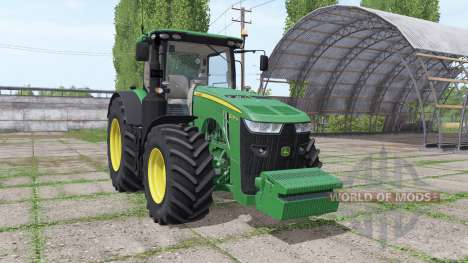 John Deere 8270R v3.1 для Farming Simulator 2017