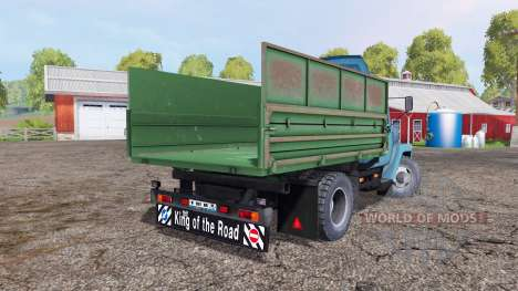 ГАЗ 3307 синий зелёный для Farming Simulator 2015