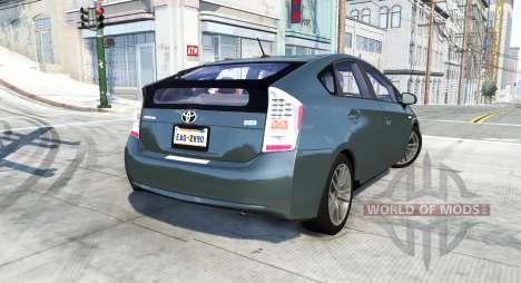 Toyota Prius (XW30) 2009 для BeamNG Drive