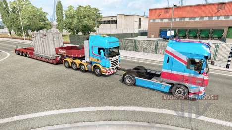 Very Heavy Load для Euro Truck Simulator 2