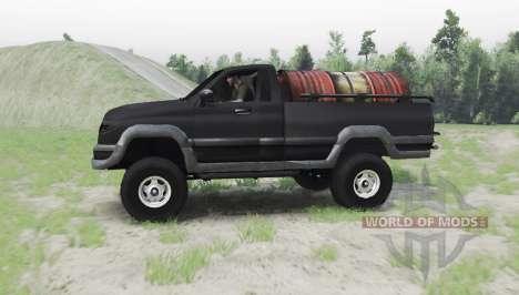 УАЗ 27602 для Spin Tires