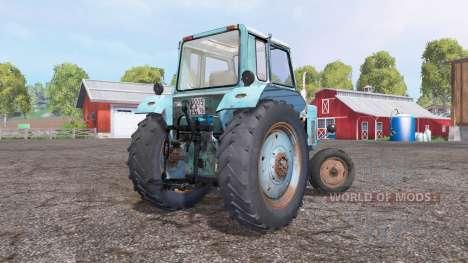 МТЗ 80 Беларус 4x2 голубой для Farming Simulator 2015