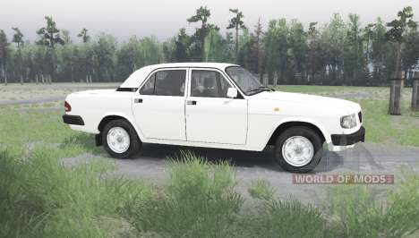 ГАЗ 3110 Волга v1.1 для Spin Tires