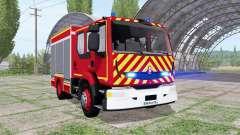 Renault Midlum Crew Cab Firetruck 2006 для Farming Simulator 2017
