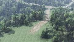 Армянский лес v2.0 для Spin Tires