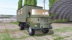 IFA W50 L leutewagen для Farming Simulator 2017