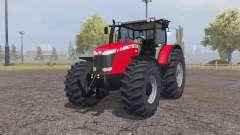 Massey Ferguson 8690 v1.1 by Mescht720 для Farming Simulator 2013
