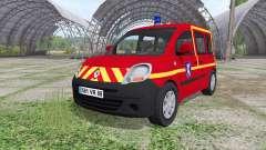 Renault Kangoo Sapeurs Pompier