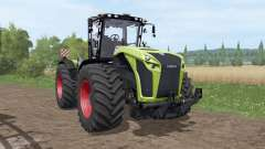 CLAAS Xerion 4000 Trac VC v1.1 для Farming Simulator 2017